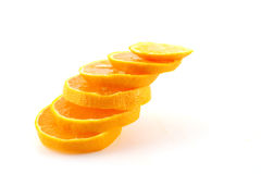 Slices of orange tangerine Royalty Free Stock Photo