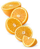 Slices of oranges Royalty Free Stock Photo