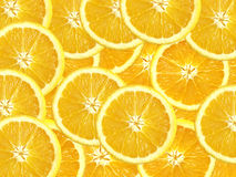 Slices of Oranges Stock Photography