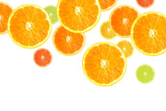 Slices of Oranges Stock Photo