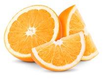 Slices Oranges Stock Photos