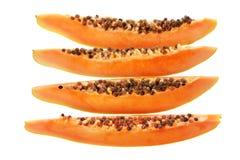 Slices of Papaya Stock Image