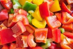 Slices paprika Royalty Free Stock Image