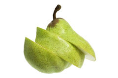Slices of Pear Royalty Free Stock Photos