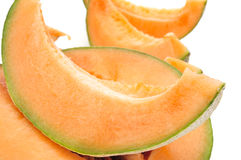 Slices of Persian melon Stock Image