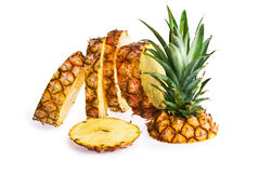 Slices of Pineapple. royalty free stock photo