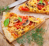 Slices of Pizza Stock Photography