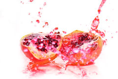 Slices of  pomegranate Stock Photo