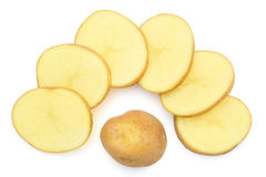 Slices of potato Stock Images
