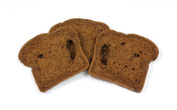 Slices Pumpernickel Bread Stock Photo