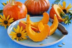 Slices of pumpkin Royalty Free Stock Photos