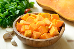 Slices of pumpkin Royalty Free Stock Photo