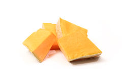 Slices of pumpkin Royalty Free Stock Photography