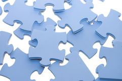 Slices of puzzle Royalty Free Stock Image