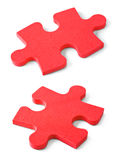 Slices of puzzle Royalty Free Stock Photo