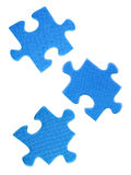 Slices of puzzle Royalty Free Stock Images