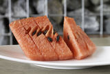 Slices of red watermelon Stock Image