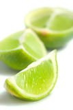 Slices of ripe lime fruit Royalty Free Stock Photo