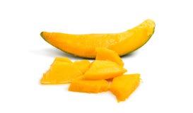 Slices of ripe mango Royalty Free Stock Photography