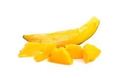 Slices of ripe mango Stock Images