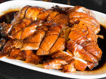 Slices of roast duck traditional Stock Photo