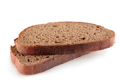 Slices, rye, bread Royalty Free Stock Images