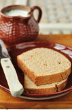 Slices of Rye Bread Stock Image