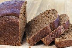 Slices of rye bread i Royalty Free Stock Photo