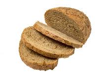 Slices of rye bread Stock Photography