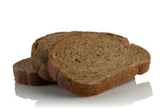 The slices of rye bread Stock Image