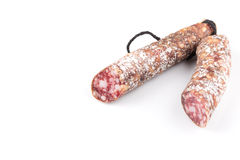 Slices of salami Royalty Free Stock Image