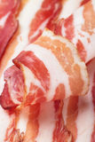 Slices of smoked bacon Royalty Free Stock Photos