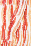 Slices of smoked bacon Stock Images