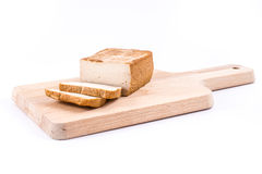 Slices of soy cheese tofu Royalty Free Stock Photography