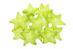 Slices of Star Fruit Royalty Free Stock Image