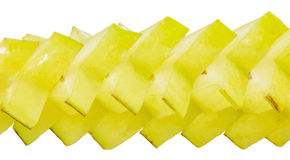 Slices of Starfruit III Royalty Free Stock Photography