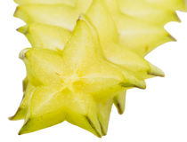 Slices of Starfruit IV Stock Photos