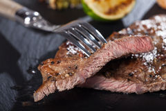 Slices of steak Royalty Free Stock Photos