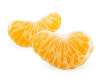 Slices of tangerine Royalty Free Stock Photography