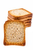 Slices of toast Royalty Free Stock Image