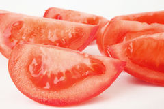 Slices Tomato. Stock Photo