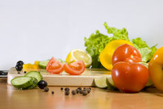 Slices of tomato Royalty Free Stock Image