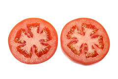 Slices of Tomato Stock Photography