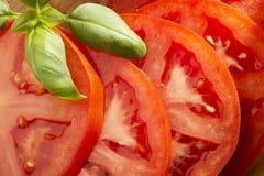 Slices of tomato Stock Photos