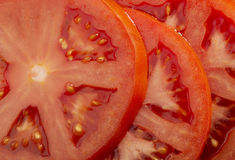 Slices of tomato Stock Images