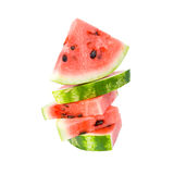 Slices of watermelon. Royalty Free Stock Photography