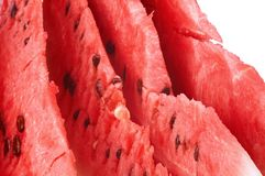 Slices of watermelon Stock Photos