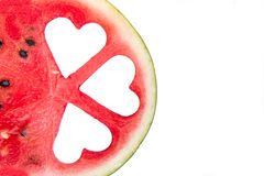 Slices of watermelon Royalty Free Stock Photos