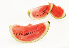 Slices of watermelon on light background Stock Photo