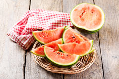 Slices of watermelon Royalty Free Stock Photography